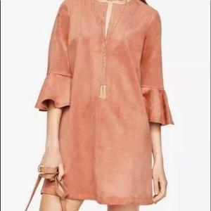 NWT BCBG Maxazira Rose Bell Sleeve Boho Dress XS